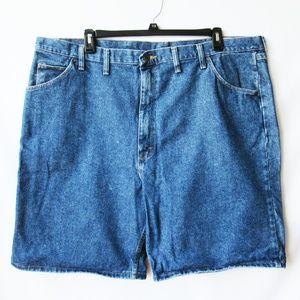 Wrangler Denim Jean Bermuda Flat Front Shorts